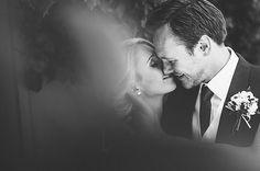a moment stolen, bride and groom portrait by Ross Harvey | via junebugweddings.com