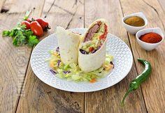 Burrito cu curcan la Crock-Pot - video Burritos, Avocado Toast, Food To Make, Crockpot, Tacos, Mexican, Breakfast, Ethnic Recipes, Food Ideas