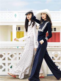 dustjacket attic: Fashion Editorial | Sea Breeze