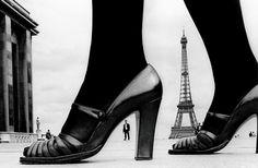 Bid now on Paris, Shoe and Eiffel Tower D by Frank Horvat. View a wide Variety of artworks by Frank Horvat, now available for sale on artnet Auctions. Louis Daguerre, Henri Cartier Bresson, Helmut Newton, Tour Eiffel, White Fashion, Paris Fashion, 1974 Fashion, Vintage Fashion, Vintage Vogue