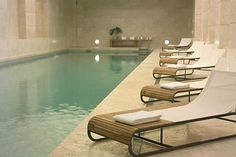 The pool at Park Hyatt Buenos Aires' Ahín Wellness & Spa. Indoor Pools, Spa Furniture, Furniture Near Me, Furniture Websites, Luxury Furniture, Jacuzzi, Spas, Piscina Do Hotel, Pool Picture