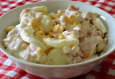 Kukoricás tojássaláta Glaser konyhájából Egg Salad, Potato Salad, My Recipes, Salad Recipes, Recipies, Sweet And Salty, Salad Dressing, Macaroni And Cheese, Food And Drink