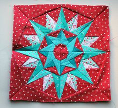 Kaleidoscope Block Free Pattern