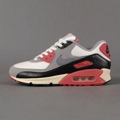 wholesale dealer 35f03 dfea3 Sneaker Nike - Air Max 90 OG (sail  cool grey  mdm grey  infrared)