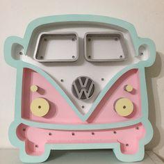 Minivan rosa www.ohmydecoart.com