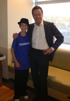 """The first episode of Breaking Bad (Season 5) was dedicated to Kevin Cordasco, a patient of Children's Hospital Los Angeles. Kevin lost his battle with #neuroblastoma in March and was a huge fan of the show.   """"He talked about it (meeting Bryan Cranston) all the time. He had a bucket list; one of (his wishes) was to meet 'Breaking Bad'."""""""