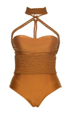 Shibari Rope Maillot Swimsuit by LENNY NIEMEYER Now Available on Moda Operandi