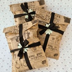 Vintage Goodie Bags: DIY, click the pic!