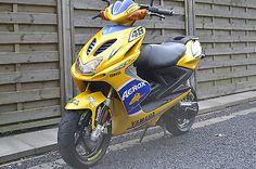 Yamaha Aerox VALENTINO ROSSI ! Sehr selten ! als Mofa/Mokick/Moped in Schwalmtal