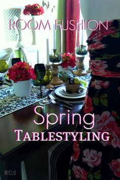 FOCAL POINT STYLING: Spring Tablestyling Ideas