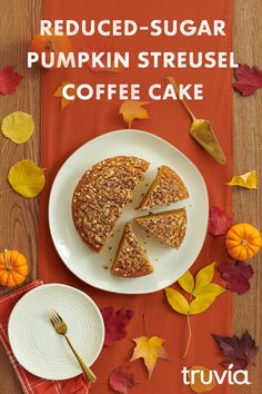 With less sugar and fewer calories than the full-sugar version, you& be saying & my gourd,& after one bite of this Pumpkin Streusel Coffee Cake made with both Truvia Brown Sugar Blend and Truvia Cane Sugar Blend. Diabetic Desserts, Sugar Free Desserts, Sugar Free Recipes, Ww Recipes, Low Carb Desserts, Diabetic Recipes, Fall Recipes, Low Carb Recipes, Delicious Desserts