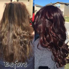 Matrix Socolor Medium brown red 5BR This is my exact hair color and I'm OBSESSED…
