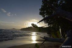 Die Playa Chiquita an der Karibikküste von Costa Rica