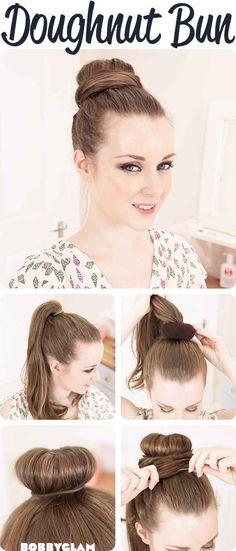 Do a doughnut bun!   33 Impossibly Gorgeous Prom Hair Ideas