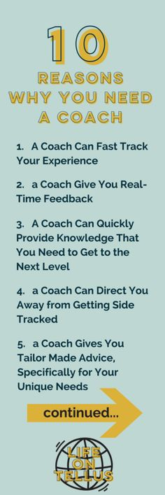 10 Reasons Why You Need a Coach | LIfe coach | Health and Wellness coach | how to accomplish your goals | How to have your dream life | goal setting | why you need a mentor | #lifecoach #healthcoach