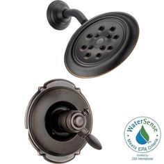 Delta Victorian 1-Handle H2Okinetic Shower Only Faucet Trim Kit in Venetian