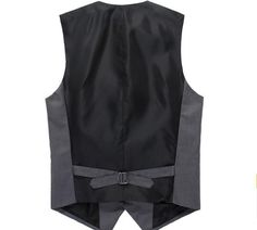 Moda Nuevo Para Hombre Slim Fit Traje Formal Informal Vestido Chaleco  Chaleco Chaqueta abrigos Chalecos Hombre 7dce9626c870