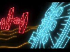 'Star Wars: The Force Awakens' gets a neon tribute http://mf.tt/Ji5wh