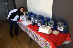 Closing out Housekeeping Week with gift bags and a taco bar at The Epiphany Hotel!