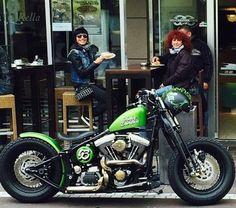 Softail Bobber, Bobber Bikes, Harley Bobber, Bobber Custom, Custom Choppers, Custom Harleys, Harley Davidson Roadster, Harley Davidson Sportster, King Art