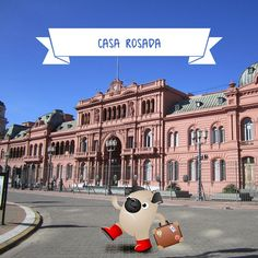 """Five Fun Facts about Casa Rosada  1 - Casa Rosada is in Buenos Aires, in Argentina. It's the office of the President of Argentina. 2 - The mansion is officially called Casa de Gobierno (Government House), but everyone just calls it Casa Rosada (which means """"Pink House""""). 3 - Casa Rosada was built in 1873, but this has been an important political spot since 1580 when Buenos Aires was founded. 4 - There were two political parties in 1873. One was the """"Red"""" party, the other was the """"White""""…"""