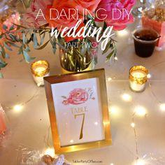 A Darling DIY Wedding Part Two