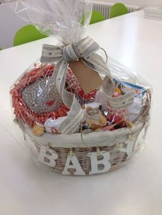 New Baby Gift Basket                                                       …