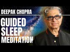 Deepak Chopra Sleep Meditation, Deep Sleep Meditation, Daily Meditation, Meditation Music, Mindfulness Meditation, Yoga Nidra, Love My Body, Meditation For Beginners, How To Better Yourself