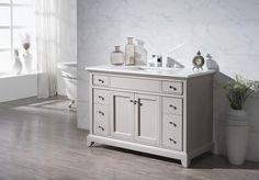 """Arianny 31-inch 37-inch 49-inch Single Sink or 59"""" Double Sink Bathroom Vanity - Still Waters Bath - 6"""