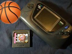 #NBAJam on the go! Still one of the best sports games ever made. - - - #retrogaming #retrogames #retro #retrogamer #gamersunite #retrogamelovers #videogames #games #gamer #gaming #instagaming #instagamer #retrocollection #retrocollector #gamecollection #gamecollector #GameGear #Sega #nba