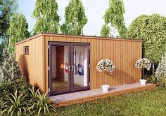 The Music Cube is our stylish, modern and contemporary designed cuboid garden structure. The cube design is one of four premium contemporary mono pitch designs available from Elmwood Summerhouses. Clad entirely in the highest quality Western Red Cedar the cube design is a true centrepiece of any garden. For more information visit http://www.elmwoodsummerhouses.com