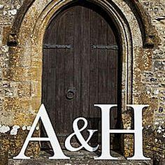 Große Holzbuchstaben für Kirche und Fest, später fürs Schlafzimmer
