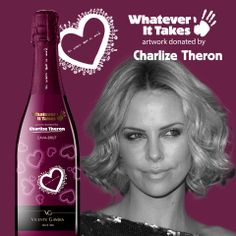 """Taste the """"Charlize Theron"""" Cava  from our limited edition in www.wineonlineforyou.com"""