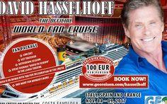 David Hasselhoff, il Michael Knight di Supercar, a novembre a bordo di Costa Favolosa per la sua prima crociera dei fan | Dream Blog Cruise Magazine