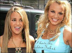 Brittney and Jamie Spears