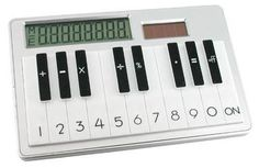 This piano calculator. | 19 Unexpected Ways To Display Your Love Of Classical Music