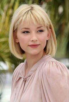 Haley Bennett Bob Hair