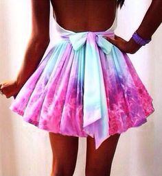 Fashion irregular galaxies skirt AFCHFD