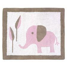 Mod Elephant Kids Rug