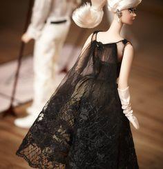 Cocktail dress barbie