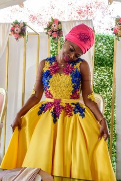 African Bridesmaid Dresses, Best African Dresses, African Wedding Attire, African Weddings, Latest African Fashion Dresses, African Print Dresses, African Attire, African Prints, Pedi Traditional Attire