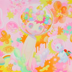 Pink - So Youn Lee  Missed the chance to view So Youn Lee's prints at the Thinkspace gallery. :'(
