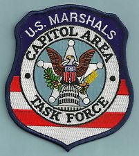US Marshal capitol area task force Police Life, Police Box, Police Uniforms, Police Badges, Us Marshals, California Highway Patrol, Remember The Fallen, Police Patches, Morale Patch