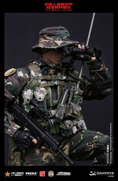 toyhaven: Preview DAM Toys 1/6 scale Chinese People's Liberation Army Special…