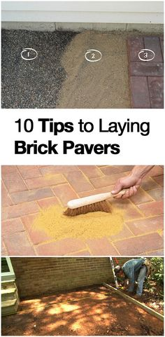 How to Lay Brick Pavers- great tips and tricks. It's easier than you think! | How to Build It