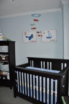 airplane-themed nursery