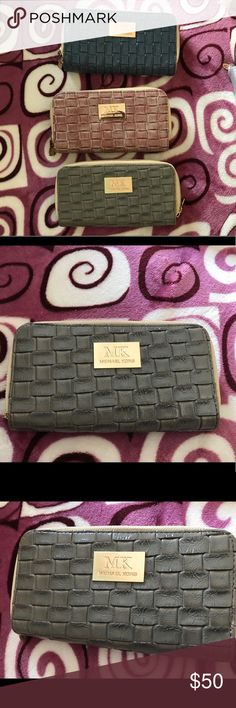 9142713710 Beautiful MK wallets Brand new in perfect condition MK wallets