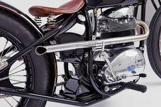 BSA Motorcycle.