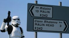 Stormtroopers at Malin Head