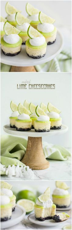 Creamy cheesecake spiked with lime and topped with a tart, buttery lime curd. The crunchy chocolate cookie crust is a great contrast!